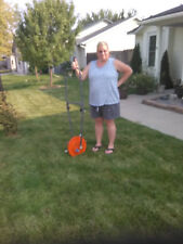 ROLL-AERATOR Lawn Aerator. double-disk. strong punch. AN AWESOME MACHINE