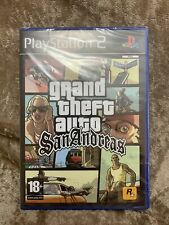 Grand Theft Auto San Andreas Ps2 Brand New Sealed Rare Playstation GTA