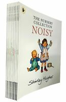 Shirley Hughes Nursery 10 Books Collection Set Childrens pack ABC,123,NOISY