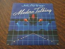 45 tours MODERN TALKING jet airliner