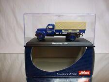 SCHUCO 02923 HANOMAG L28 - DACHSER SPEDITION - BLUE 1:43 - EXCELLENT IN BOX
