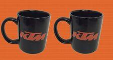 0052 Orginal KTM Kaffeetasse Tasse 2 Stück Teetasse Kaffeebecher Blitzversand