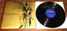 WILLIE CLANCY ~ THE MINSTREL FROM CLARE ~ IRELAND IRISH FOLK UK TOPIC LP 1967