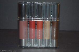Clinique Chubby Stick Set - 2x Shadow Tint for Eyes 2x Moisturizing Lip 5pcs NIB