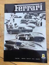 Ferrari Owners Club Magazine issue 117, vol 30, no 1, Spring 1998, VGC.
