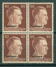 Deutsche Besetzung - Ostland 17 Viererblock  , ** ,