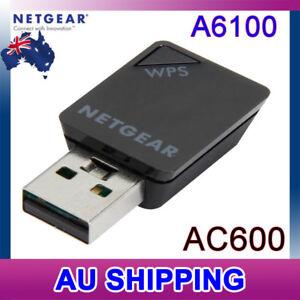 NETGEAR A6100 WiFi Wi-Fi USB Mini Adapter - AC600 802.11ac Dual Band