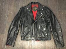 Petroff Leather Motorcycle Jacket OG 40