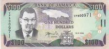 JAMAIQUE : 100 DOLLARS 2004 NEUF - P.89d
