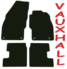 Deluxe Quality Car Mats for Vauxhall Adam 2012 Onwards ** Black **