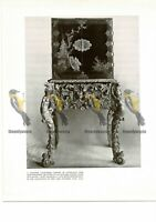 Japanese Lacquered Cabinet, Late 17thC, Book Illustration (Print), 1934