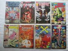 LOT OF 40 MARVEL COMIC BOOKS    ***ALL BAGGED & BOARDED***    ***SEE INSIDE***