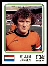 Panini World Cup Story 1990 - Willem Jansen (Nederland) No. 83