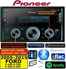 2005-2015 FORD F250/350/450/550 PIONEER AM/FM USB AUX BLUETOOTH CAR Stereo Radio