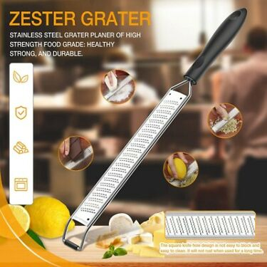 Citrus Lemon Zester Cheese Grater Sharp Blade Kitchen Gadget Cooking Accessory v