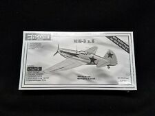 ENCORE 1/72 SCALE MIG-3 z.6 FIGHTER PLANE MODEL KIT #1021 ©199x - SEALED!! NOS!!