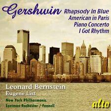 CD GERSHWIN RHAPSODY IN BLUE PIANO CONCERTO AMERICAN IN PARIS I GOT RHYTHM ETC