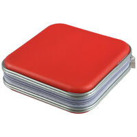 Colorful 40 PCS DVD/CD Disc Carry Holder Storage Case- N3
