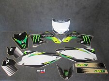 Kawasaki KXF450 2009-2011 One Industries Monster Energy graphics kit 1G69