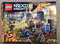 NEW LEGO 70317 THE FORTREX NEXO KNIGHTS - RARE - RETIRED - BNIB