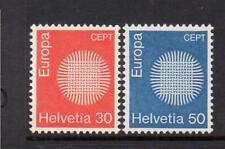 SWITZERLAND MNH 1970 SG791-792 EUROPA