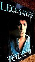 LEO SAYER TOUR '78 (LEO SAYER 1978 TOUR PROGRAMME)