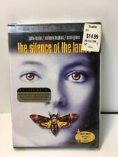 The Silence of the Lambs (DVD, 2001, Pan  Scan Special Edition) New