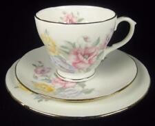 Tea Trio Multi-Coloured Vintage Original Pottery & Porcelain