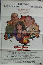 When Time Ran Out Original Single Sided Movie Poster Paul Newman William Holden