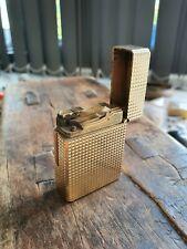 Vintage Dupont Gas Lighter gold plated