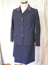 Vecchio VEB DDR 50er anni posta da donna abito uniforme e giacca originale con ettikett