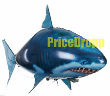 Air Flying Shark Fish Swimmer - Remote Controlled RC Toy Fun Children XMAS Gift