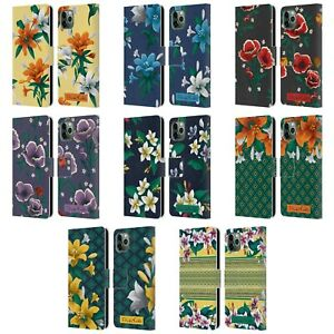 FRIDA KAHLO FLOWERS LEATHER BOOK WALLET CASE COVER FOR APPLE iPHONE PHONES