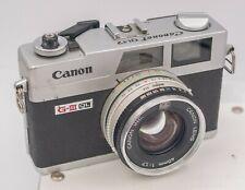 Canon Canonet G-III QL17 35mm Film Rangefinder Camera w/ 40mm F1.7 Lens *Read*