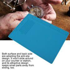 Watchmaker's Plastic Rubber Bench Mat Pad Anti-Slip Jewelry Watch Repairing Tool