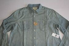 Ralph Lauren Denim and Supply Striped Chambray WorkShirt in Size XXL