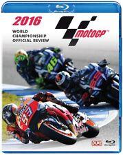 MOTO GP 2016 BLU-RAY - MARC MARQUEZ - MotoGP Grand Prix Season Review - NEW UK