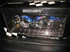 MINICHAMPS 1:12 YAMAHA YZR-M1 ALEX BARROS GAULOISES  MOTO GP 2003  MOTOR BIKE