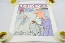 Garry Trudeau Monte Grande Starbucks Signed Poster Doonesbury Characters