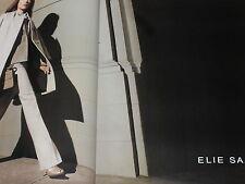 PUBLICITE ADVERTISING  2012  ELLIE SAAB  haute couture hiver ( 2 pages)