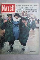PARIS MATCH Inondations Italie Obey Corée Atomique Grotewohi Henser Hutton