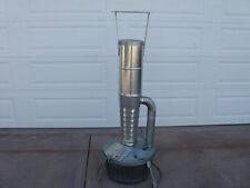 New smudge pot, kerosene, camp, diesel, orchard, crop, heater, w/stand