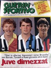 Guerin Sportivo 21 1985 Sfida coppa dei campioni Juventus Liverpool