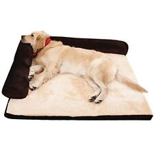Memory Foam Dog Bed Mattress Extra Large Pet Sofa Pad Pillow Cushion Couch Brown
