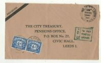 Thorner Leeds 21 Aug 1967 Cover 8d To Pay Charge 2 x 4d Postage Due Stamps 290c
