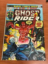 Ghost Rider #2 1st full app Damien Hellstrom Marvel Comics 1973 FN+