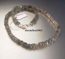 Faszinierende Edelstein Kette * Labradorit * 925 Silber *