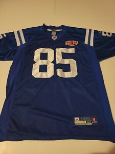 Reebok NFL Pierre Garcon (Men's L) Indianapolis Colts Jersey Football On Field