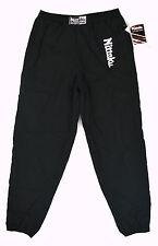 NITTAKU Black Table Tennis Jersey Lined Warm-Up HADRIAN Track Pants Men's XL NWT