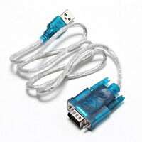 USB To RS232 Serial Port 9 PIN DB9 COM Converter Cable Adapter Fr Windows 7 8 op